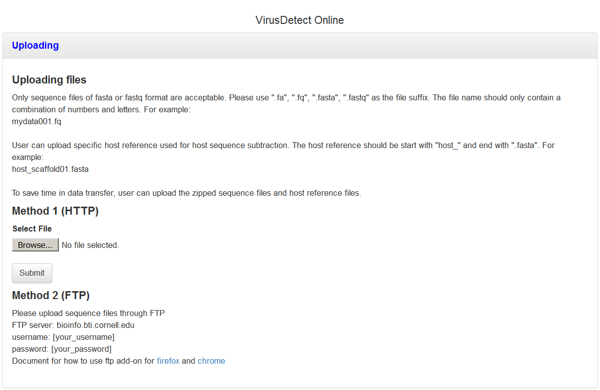 VirusDetect - An automated pipeline for efficient virus discovery